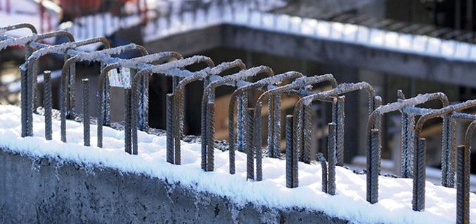 بتن ریزی در هوای سرد